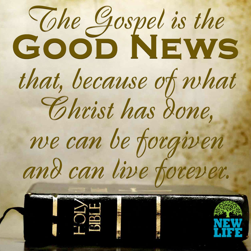You Have Probably Heard The Story Ofs Love Referred To As The Gospel The Word Gospel Simply Means Good News The Gospel Is The Good News That